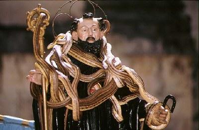 Festa di San Domenico Abate il Rito dei Serpari
