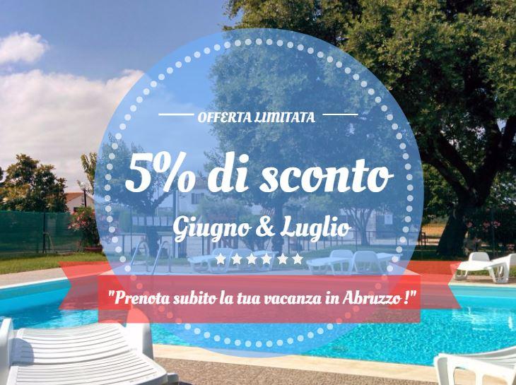 Offerta Giugno Luglio Agriturismo Abruzzo