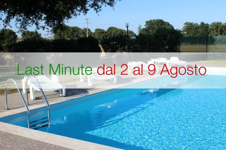 Offerta Last Minute Inizio Agosto