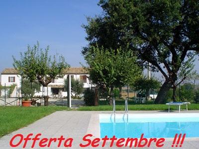 Offerta Last Minute Settembre in Agriturismo in Abruzzo