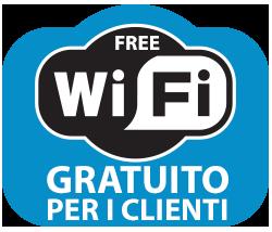 Wi-Fi Gratuito per i nostri ospiti